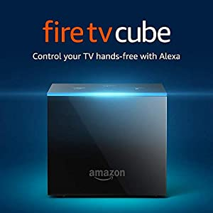 Fire TV Cube (1st Gen), hands-free with Alexa and 4K Ultra HD and 2nd Gen Alexa Voice Remote - Previous Generation 8
