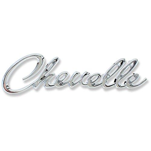 Panel Emblem Chevelle - Eckler's Premier Quality Products 50204181 Chevelle Header Panel Emblem Chevelle