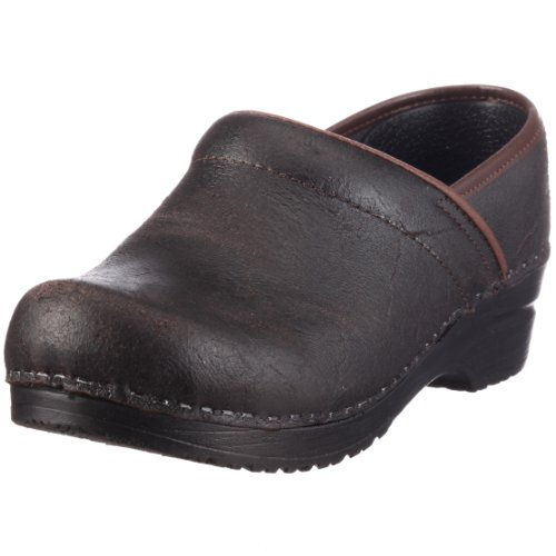 Sanita Womens Original Taylor Closed Clogs Brown nlYDZnc