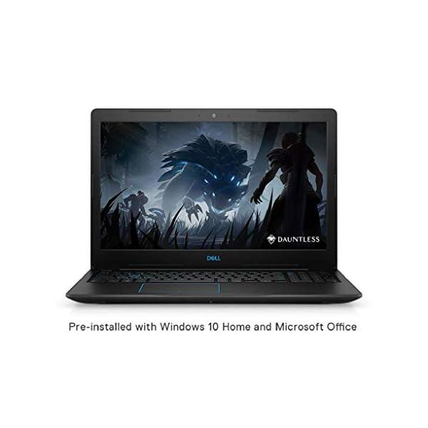 DELL Gaming Laptop 8th Gen Core i5-8300H/8GB/512GB SSD/Windows 10 + MS Office/4GB NVIDIA 1050 Ti Graphics), Black