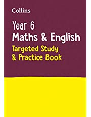 Year 6 Maths and English KS2 Targeted Study & Practice Book: Home Learning and School Resources from the Publisher of 2022 Test and Exam Revision Practice Guides, Workbooks, and Activities.