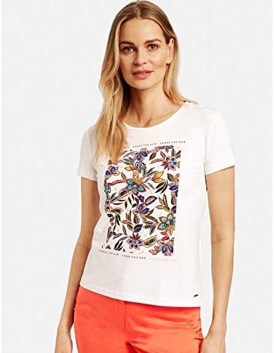 Taifun damska koszulka z nadrukiem Organic Cotton figurka: Odzież