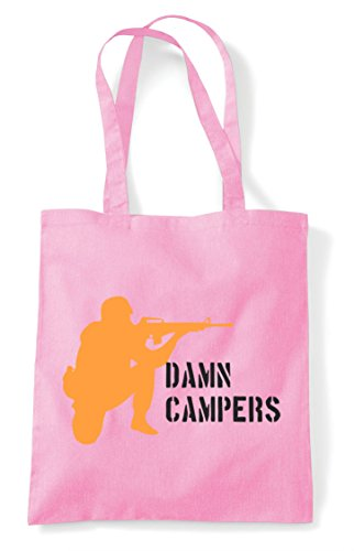 Gaming Pink Statement Pvp Damn Bag Light Multiplayer Online Tote Campers Shopper qZqwOPS