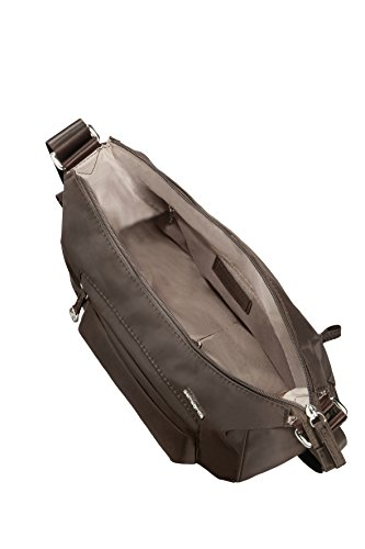 1 Color S 6 0 Bag Marrón 3 Pock Should 2 Move Bolso Samsonite Litros Oscuro Bandolera Negro YqT11