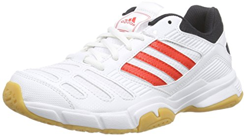 adidas adidasBT Boom - Zapatillas Deportivas Para Interior Unisex Adulto Blanco - Weiß (RUNWHT/HIRERE/BLACK1)