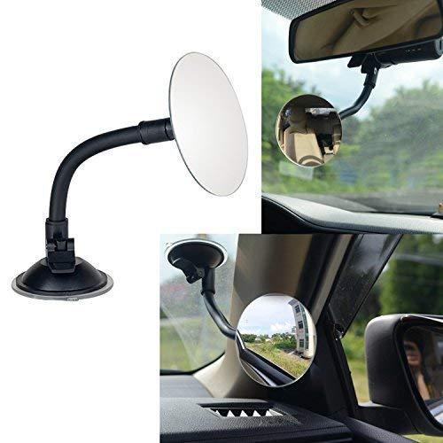 3.35 Round Blind Spot Mirror/Rear Facing Mirror, Ampper 360