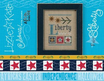 (Liberty Celebrate With Charm and Cross Stitch)