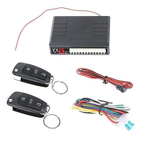 Car Alarm Auto Remote Control Central Locking Door Lock Kit Keyless Entry System
