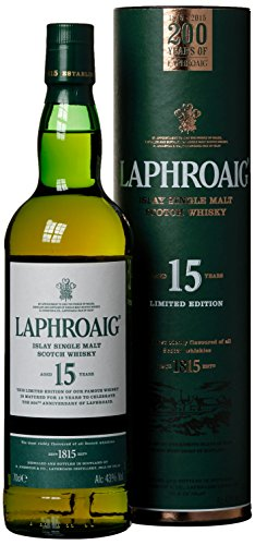 Laphroaig Old 200 Years Old Limited Edition mit Geschenkverpackung (1 x 0.7 l)