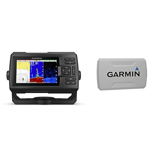 Garmin STRIKER Plus 5cv with CV20-TM Transducer and Protective Cover, 5 inches 010-01872-00 ()