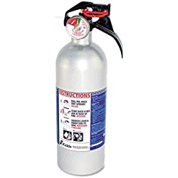 Kidde 21006287N Automobile Extinguishers, for Class B and C Fires, 2 Lb Cap Wt