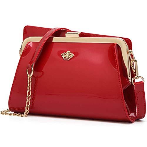 Bag Messenger Bag Shoulder Red Wine Women's 5Rwpn