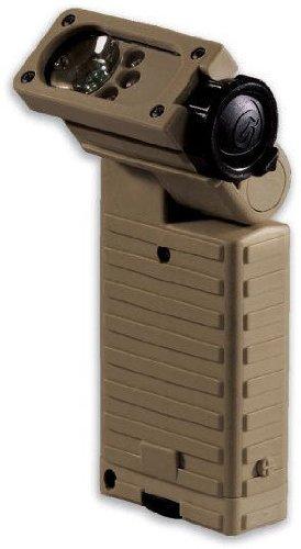Streamlight Sidewinder Tactical Flashlight, Sportsman Model, Coyote Tan - C4 White, Red, (Streamlight Sidewinder Tactical Flashlight)