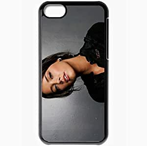 Personalized iPhone 5C Cell phone Case/Cover Skin Amber Heard Black