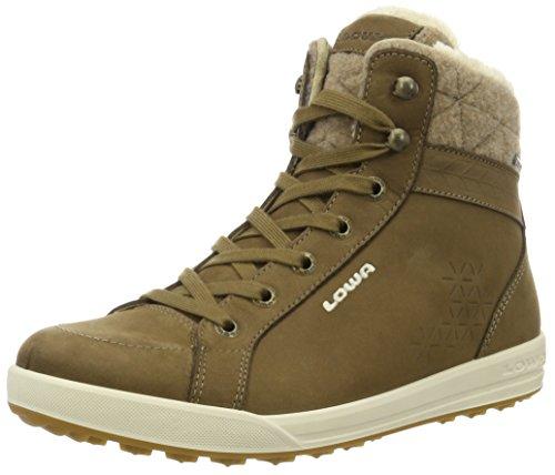 Lowa Tortona Gtx - zapatillas de trekking y senderismo de media caña Mujer Beige (Taupe/Creme)