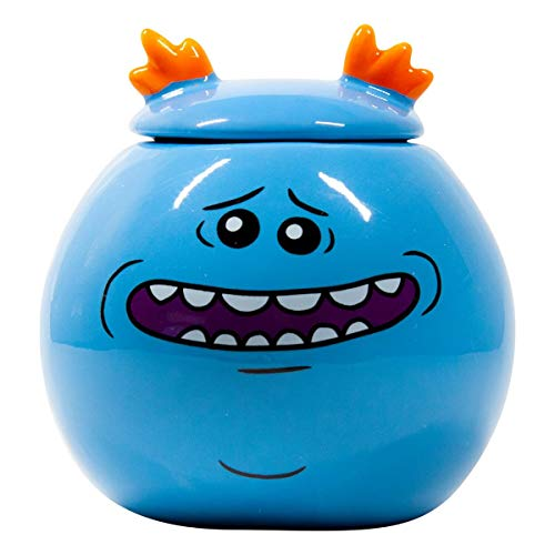 Rick and Morty Collectibles | Rick and Morty Mr. Meeseeks Mini Mug | 2 Tufts