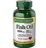 Nature's Bounty Fish Oil, 1200mg, 360mcg of