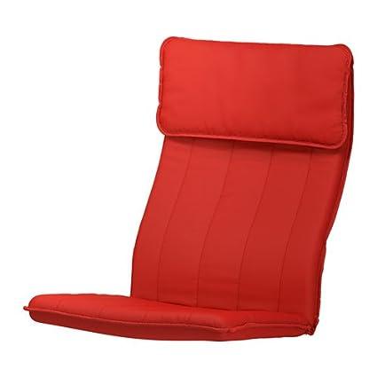 Cojín Poäng sillón, Ransta roja: Amazon.es: Hogar