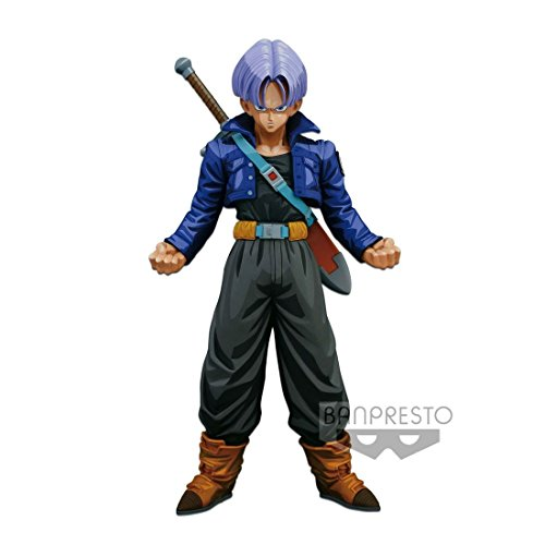 Banpresto - Figurine DBZ - Trunks Master Stars Piece Manga Dimension 24cm - 3296580261765