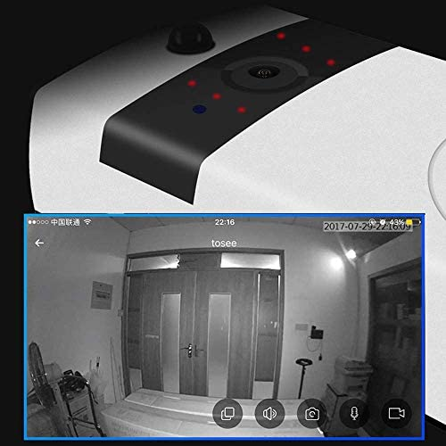 ビデオドアベル、ホームワイヤレスWIFIビデオキャットアイドアベル、インテリジェント音声インターホンビデオ盗難防止監視ドアベル、