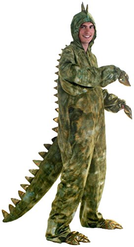 n's T-rex Deluxe Costume, Green, Small/Medium ()