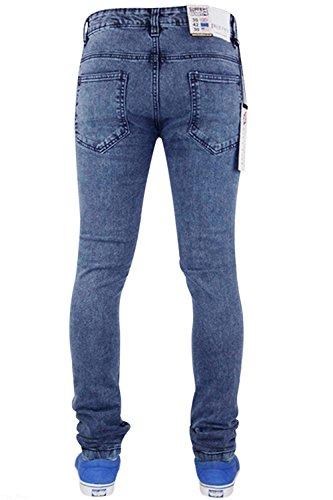 Mid True para ajustado Tf021 Blue elástico hombre Face Pantalón 6xn0ZAqwf