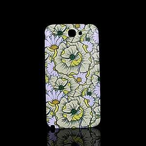 WQQ flor de la cubierta patrón fo Samsung Galaxy Note 2 N7100 caso