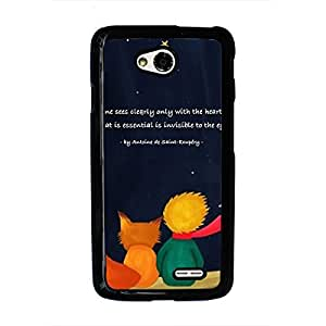 The Little Prince Phone Case Le Petit Prince LG L70 Phone Case Black Full Protection Cover The Little Prince LG L70 Phone Case 235