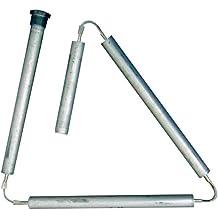 "Aluminum Zinc Hex Head Flexible Anode Rod (.800"" x 3/4"" x 44"") - Stops Rotten Egg Smelly Water! …"