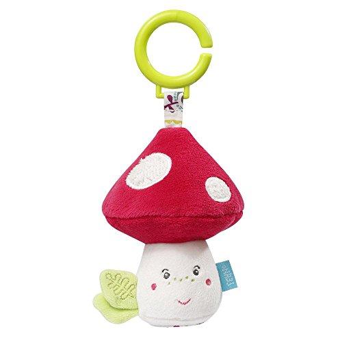 Fehn 076806 Babyspielzeug Schnullertasche Pilz
