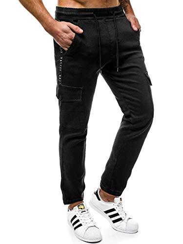 NeroOzonee 777 Per Jeans Pantaloni Sportivi Ginnastica Ozonee Otantik Tempo Da 1805 Pareggiatore 553s Libero Uomo 3jLqAR5c4