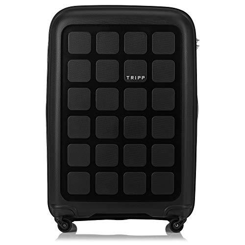 Tripp Black Holiday 6 Large 4 Wheel Suitcase