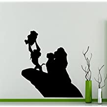 Lion King Wall Decal Simba Pumbaa Timon Scar Vinyl Sticker Home Nursery Kids Boy Girl Room Interior Art Decoration Any Room Mural Waterproof High Quality Vinyl Sticker (217xx) by Awesome Decals