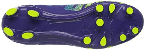 Homme Puma Football Violet 3 prismviolet blue Chaussures De Evospeed 4 Fg yellow rYax0r8
