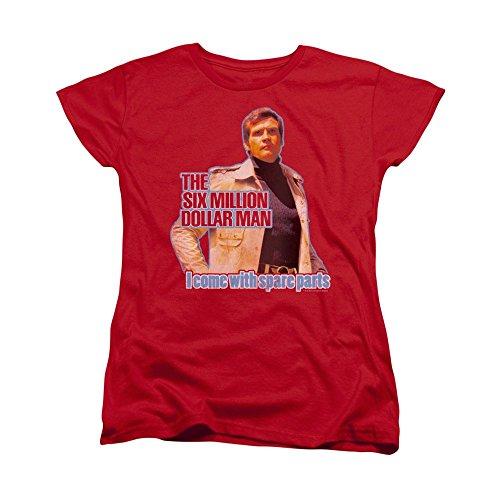 - Sons of Gotham Six Million Dollar Man Spare Parts Women's T-Shirt XL