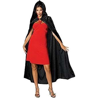 Full Length Velvet Hooded Cape/Cloak Costume
