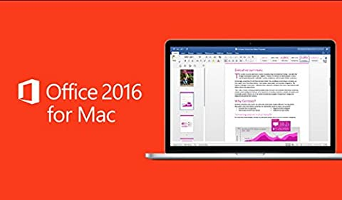Microsoft Office Mac 2016 Disk DVD Version (Microsoft Word For Mac Disc)