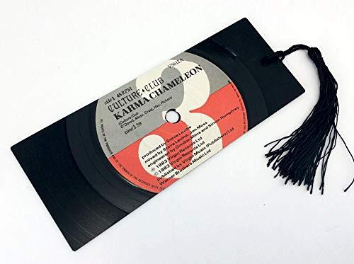 culture club karma chameleon vinyl record bookmark gift amazon co