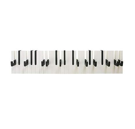 LHY SAVE Perchero De Pared Madera Creativa Diseño De Piano ...