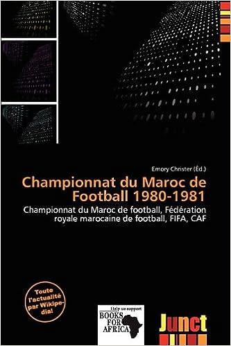 Livres gratuits Championnat Du Maroc de Football 1980-1981 pdf ebook