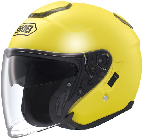 Shoei J-Cruise Brilliant Yellow Open Face Helmet - X-Large