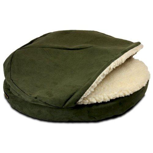 Snoozer Luxury Orthopedic Cozy Cave Pet Bed, X-Large, Hot Fudge, My Pet Supplies