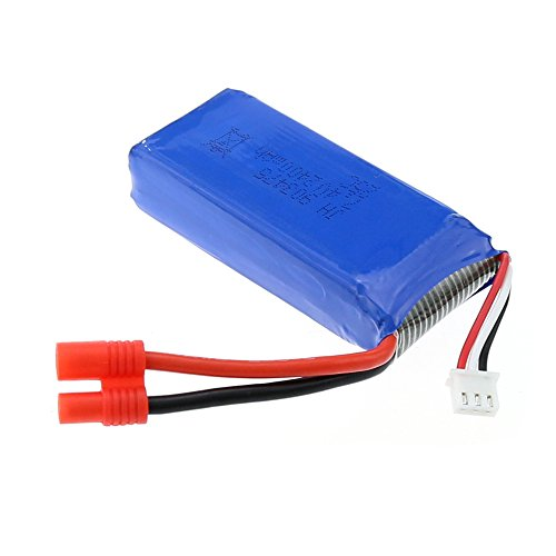 Dazhong 7.4v 2000mah Round Connector Battery Batteries for Syma Venture X8C X8W X8HW X8HC X8G X8HG and JXD 506G X8HW 506W Quadcopter