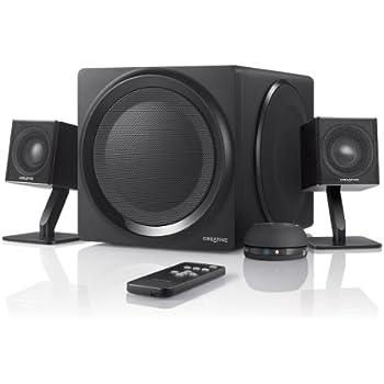 Amazon.com: Creative T3250W Wireless 2.1 Bluetooth Speaker System ...