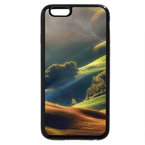 iPhone 6S / iPhone 6 Case (Black) MONTANHAS COLORIDAS