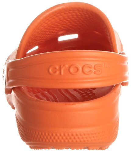Crocs Unisex Orange Zoccoli Classic Kids Arancione Bambini 6Br67qw