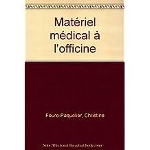 cah. prep. pharmacie no. 7-materiel medical officine