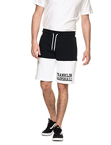 Franklin & Marshall Men's Fleece UNI Men's Black Shorts In Size XL Black by Franklin & Marshall