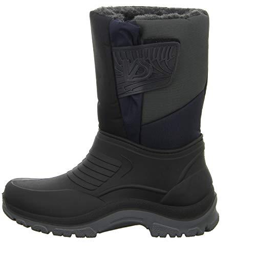 Schwarz Herren Regenstiefel Schwarz U45 Sneakers A2102 q1PwIUY