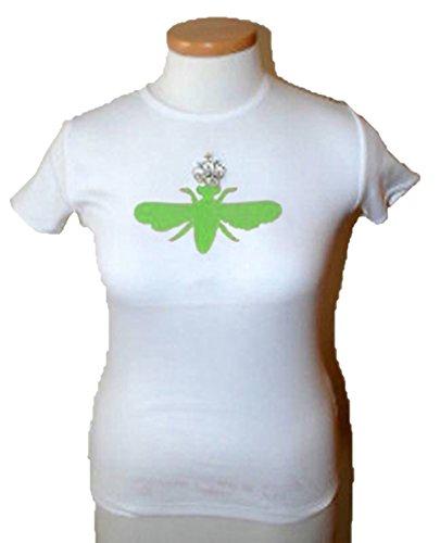 My Flat in London S/S Shirt Queen Bee w/ Rhinestone Crown New-XL